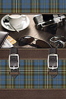 Бумажный подарочный пакет Мини - Часы+очки