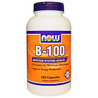 Now Foods, B-100, 250 капсул