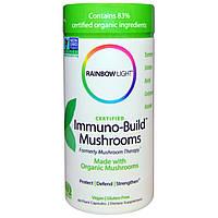 Rainbow Light, Сертифицировано, Грибы Immuno-Build, 60 растительных капсул