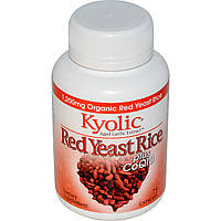 Wakunaga - Kyolic, Экстракт возрастного чеснока, красный дрожжевой рис, плюс CoQ10 75 капсул
