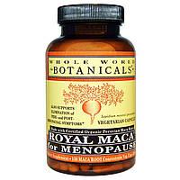 Whole World Botanicals, Королевская мака для менопаузы, 500 мг, 120 вегетарианских капсул