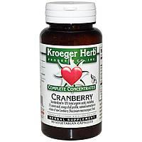 Kroeger Herb Co, Совершенные концентраты, клюква, 90 вегетарианских капсул
