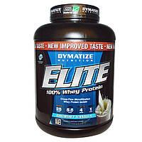Dymatize Nutrition, Elite 100% Whey Protein, Gourmet Vanilla, 5 lbs (2,270 g)