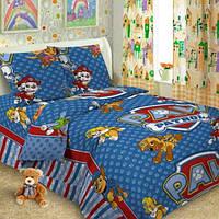 Комплект детского постельного белья подростковый Щенячий патруль