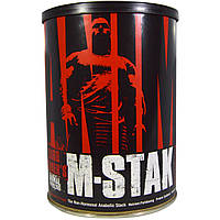 Universal Nutrition, Animal M-Stak, негормональный анаболик, 21 пакетик