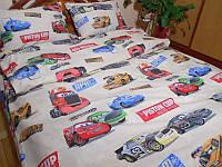 Комплект детского постельного белья подростковый Пистон клуб беж