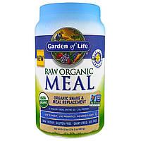 Garden of Life, Raw Meal, органический заменитель пищи, со вкусом ванили, 33,5 унции (949 г)