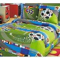 Ткань для постельного белья Чемпионат Футбол