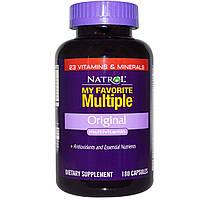 Natrol, My Favorite Multiple, Оригинальный мультивитамин 180 капсул