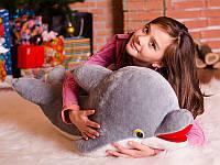 Мягкая игрушка Дельфин 1 м