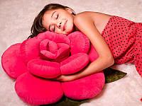Мягкая Подушка игрушка Роза 68 см