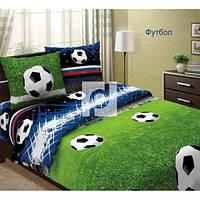 Ткань для постельного белья бязь Футбол