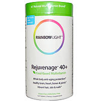 Rainbow Light, Rejuvenage 40+, пищевой мультивитамин, 120 таблеток