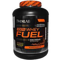 Twinlab, 100% сывороточный протеин со вкусом шоколада, 5 фунтов (2.27 кг)