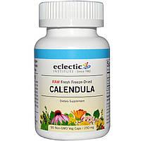 Eclectic Institute, Календула, 250 мг, 90 растительных капсул без ГМО