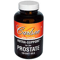 Carlson Labs, Nutra•Поддержка простаты, 120 мягких капсул