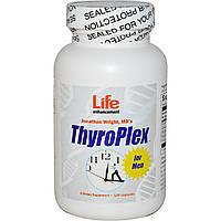 Life Enhancement, Пищевая добавка ThyroPlex для мужчин, 120 капсул