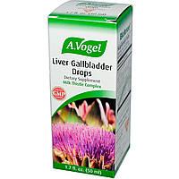 A Vogel, Liver Gallbladder Drops, 1,7 жидких унций (50 мл)