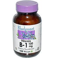 Bluebonnet Nutrition, Витамин B-1, 100 мг, 100 растительных капсул