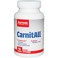 Jarrow Formulas, CarnitAll, 90 капсул