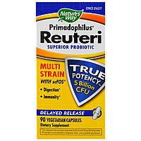 Nature's Way, Primadophilus Reuteri, улучшенный пробиотик, 90 Veggie Caps