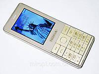 Телефон NOKIA Asha 515 Золотой - 2Sim+Camera+Bluetoh+FM