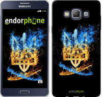 """Чехол на Samsung Galaxy A7 A700H Герб """"1635c-117"""""""
