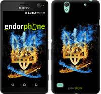 "Чехол на Sony Xperia C4 Герб ""1635c-295"""
