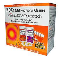 Natural Factors, Комплекс добавок для 7 Дневной Программы Полной Питательной Очистки