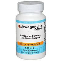 Advance Physician Formulas, Inc., Экстракт ашвагандха, 500 мг, 60 капсул
