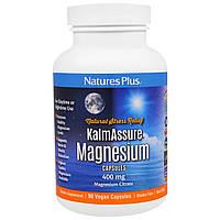 Nature's Plus, Kalmassure, Цитрат Магния, 400 мг, 90 Растительных капсул