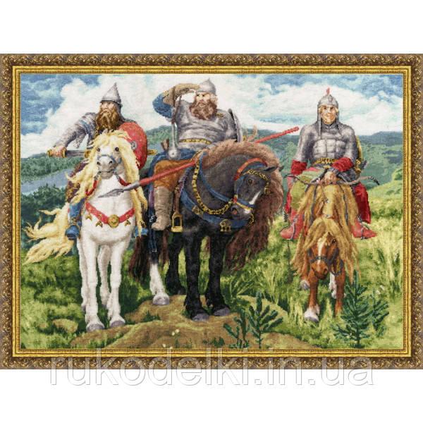 Наборы три богатыря вышивка крестом