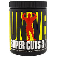 Universal Nutrition, Super Cuts 3, двухэтапный липотропный и диуретический комплекс, 130 таблеток