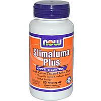 Now Foods, Slimaluma Plus, 60 капсул в растительной оболочке