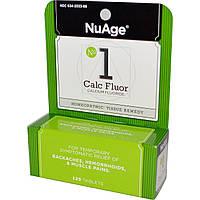 Hyland's, NuAge, № 1 Calc Fluor (фторид кальция), 125 таблеток