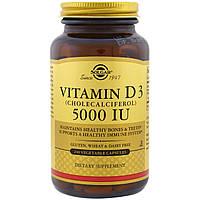 Solgar, Vitamin D3 (Cholecalciferol), 5000 IU, 240 Veggie Caps