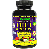 Rainforest, Diet & Cleanse, 90 Veggie Capsules