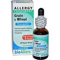 NatraBio, BioAllers, зерно и пшеница, лечение аллергии, 30 мл