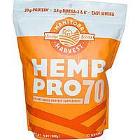 Manitoba Harvest, Конопля Pro70, протеиновая добавка на растительной основе, 908 г (2 фунта)