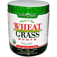 Green Foods, Органические сырые ростки пшеницы, 150 г (5,3 унции)