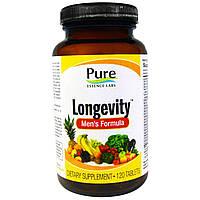 Pure Essence, Долголетие, формула для мужчин, 120 таблеток