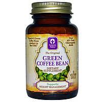 Genesis Today, Натуральное зеленое кофейное зерно, 60 вегетарианских капсул