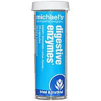 Michael's Naturopathic, Пищеварительные ферменты, 20 капсул
