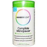 Rainbow Light, Complete Menopause, цельнопищевые мультивитамины, 120 таблеток