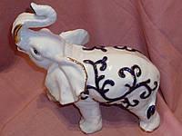 Слон большой фарфоровый 24х23,5х14 см
