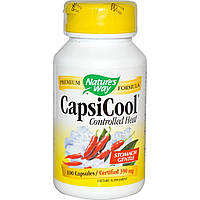 Nature's Way, Пищевая добавка CapsiCool, жар под контролем, 100 капсул