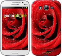 "Чехол на Samsung Galaxy Grand I9082 Красная роза ""529c-66"""