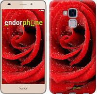 """Чехол на Huawei Honor 5C Красная роза """"529c-356"""""""