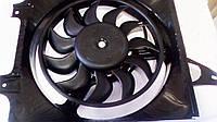 Диффузор радиатора Таврия, Славута Заз 1102 - 05, Сенс в сборе ЛУЗАР, фото 1