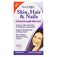 Natrol, Кожа, Волосы и Ногти, Эффективный Уход , 60 капсул